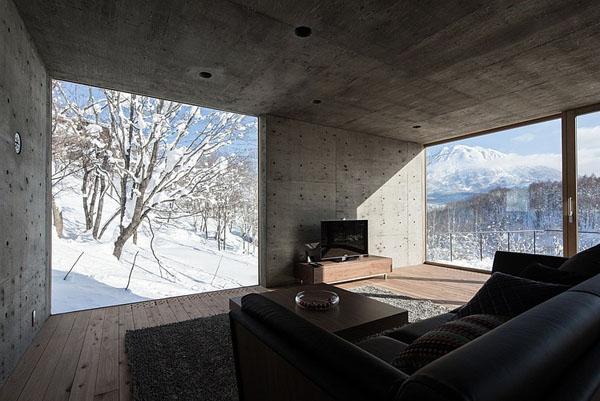 house-hirafu-florian-busch-architects svetaines interjeras