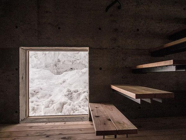 house-hirafu-florian-busch-architects, langas, laiptų pakopos