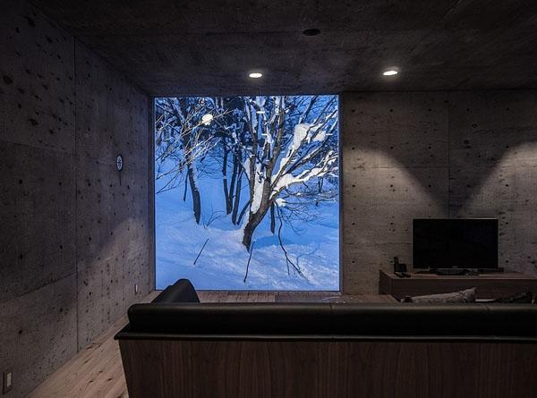 house-hirafu-florian-busch-architects, langas, sofa