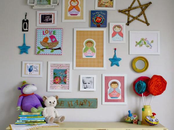 paveiksliukai, nuotraukos ant sienos