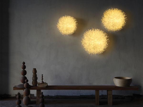 Šviestuvai koralai – dizainerė Olivia d'Aboville