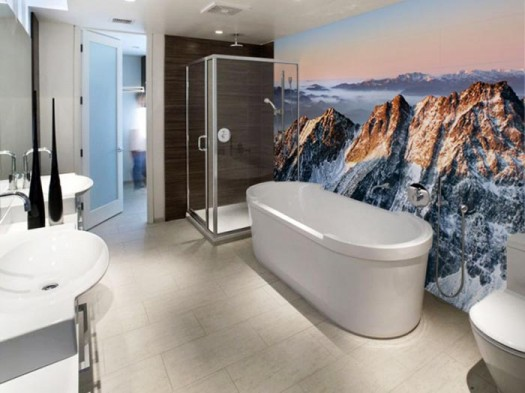 bathroom-wall-mural-mountains-smart-wall-improvement-with-new-concept-wall-murals-from-eazywallz-525x393