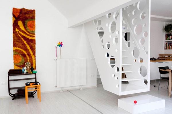 balti ementalio laiptai