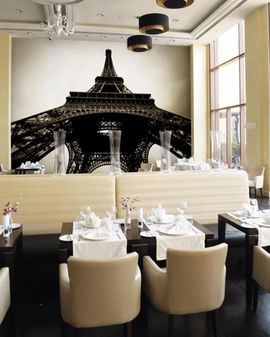 restaurant-wall-mural-eiffel-tower-smart-wall-improvement-with-new-concept-wall-murals-from-eazywallz-525x656