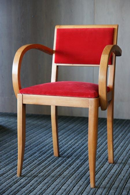 Art Deko stiliaus kėdė