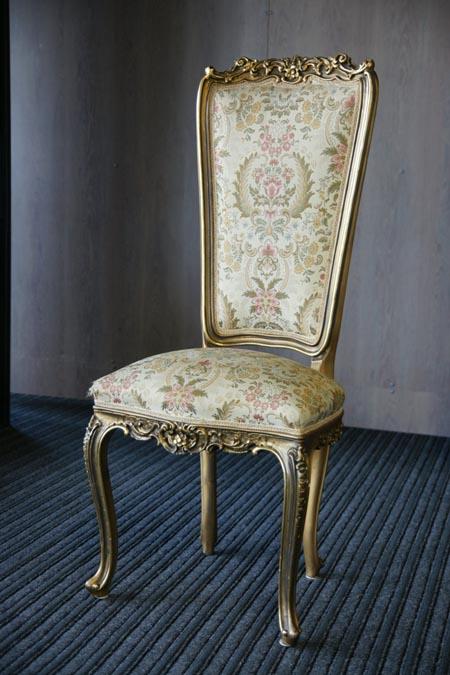 Baroko stiliaus kėdė