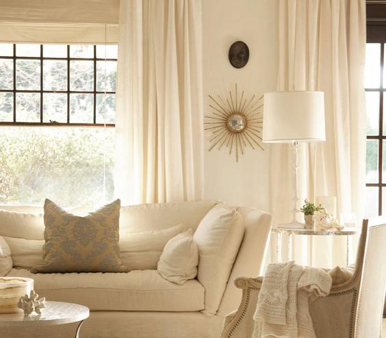 balti baldai užuolaidos svetainėje
