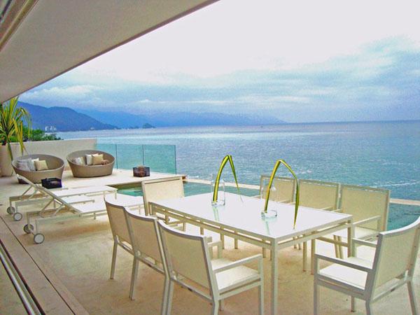 lauko terasa, staliukai, jūra