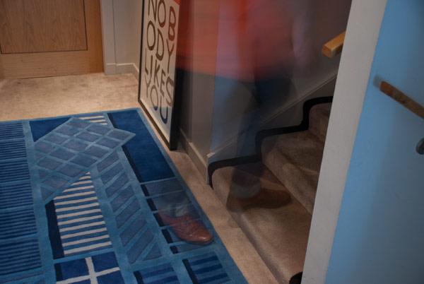 Raštuoti kilimai, stačiakampės geometrinės formos