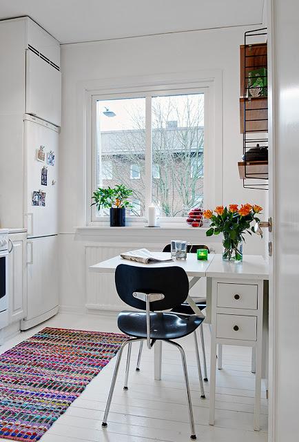 langas virtuveje