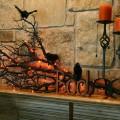 Židinio papuošimo idėjos Helovino šventės proga