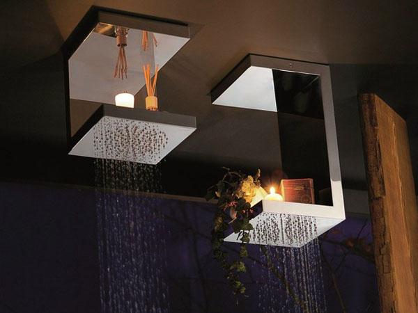 stačiakampės dušo galvutės lentynėlės
