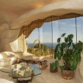 Moderni akmens amžiaus estetika name Malibu