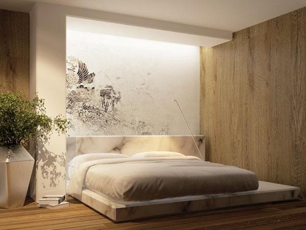 futuristinis miegamasis