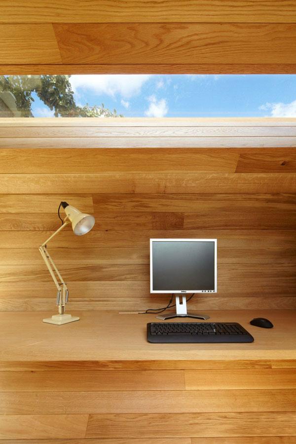 skulptura namu biuras darbo vieta