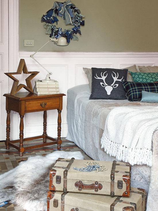 kalediniai simboliai miegamajame