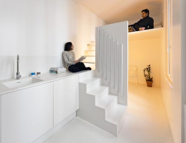 miegamasis virtuve 20m2
