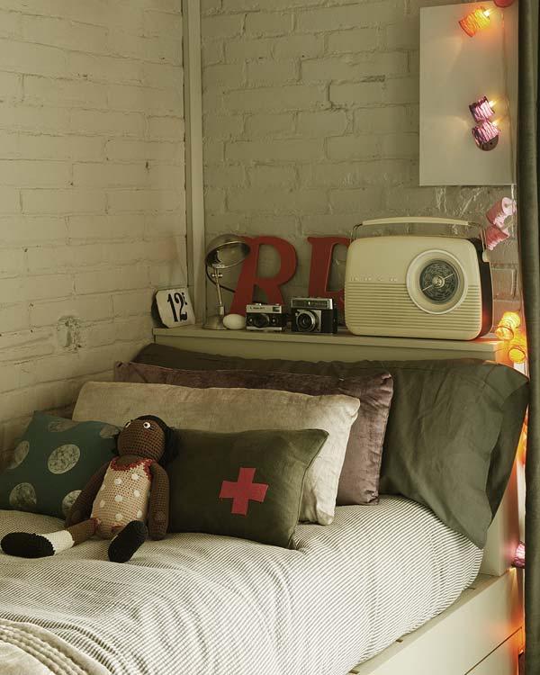 senoviska radija vaiko kambaryje