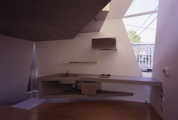 mazas namas virtuve baldai tokijuje 1