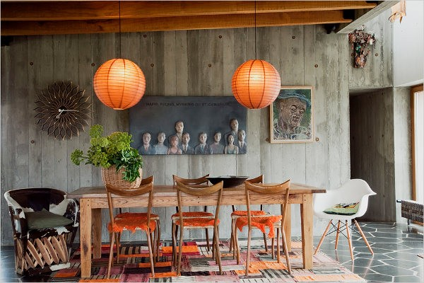 medinis namas du oranziniai sviestuvai islandijoje