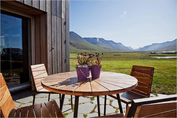 medinis namas islandijoje eksterjeras