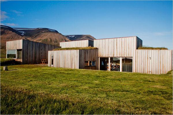 medinis namas islandijoje