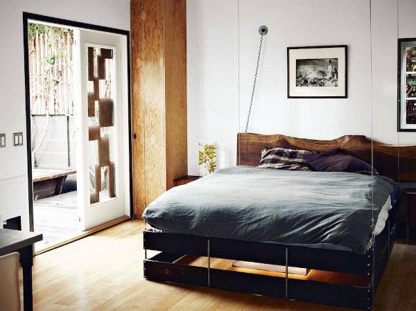 pakeliama lova apsvietimas apacioje