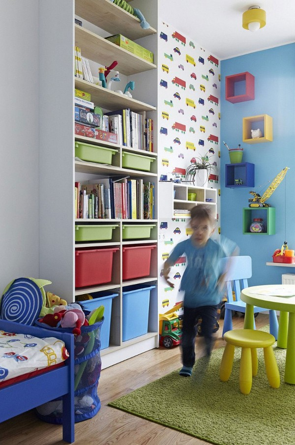 vaiko kambarys tapetai masineles