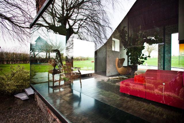 fermos rekonstrukcija stiklo fasadas interjero vaizdas