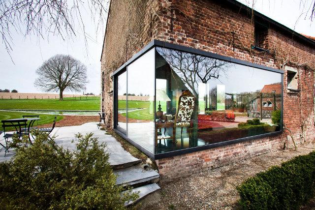 fermos rekonstrukcija stiklo fasadas