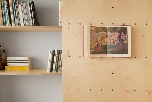 mazas butas, knyga medine sienute