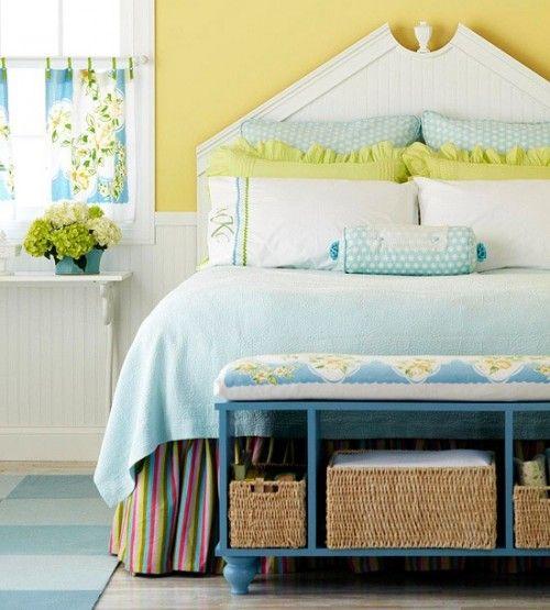 melsva geltona miegamasis