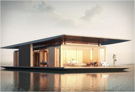 namas ant vandens perspektyva