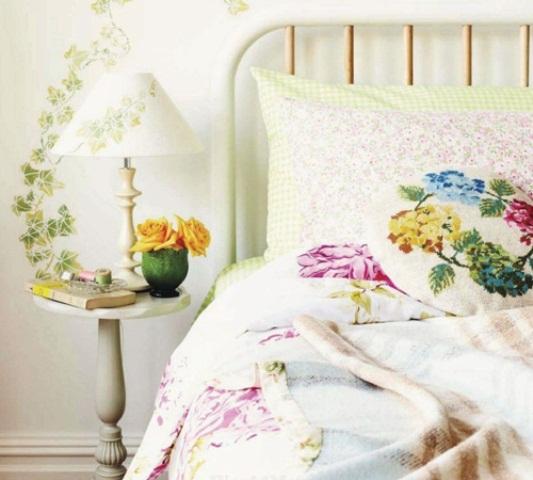 tapetai sviestuvas dekoras lova