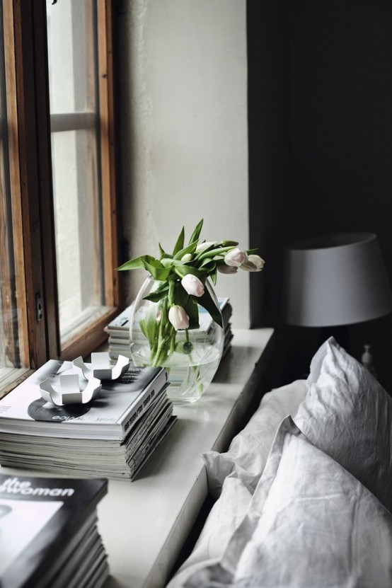 tulpes ant palanges, lova