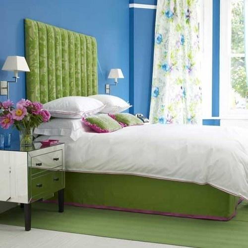 zalia melyna violetine miegamasis