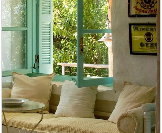 namas graikijoje, langas1