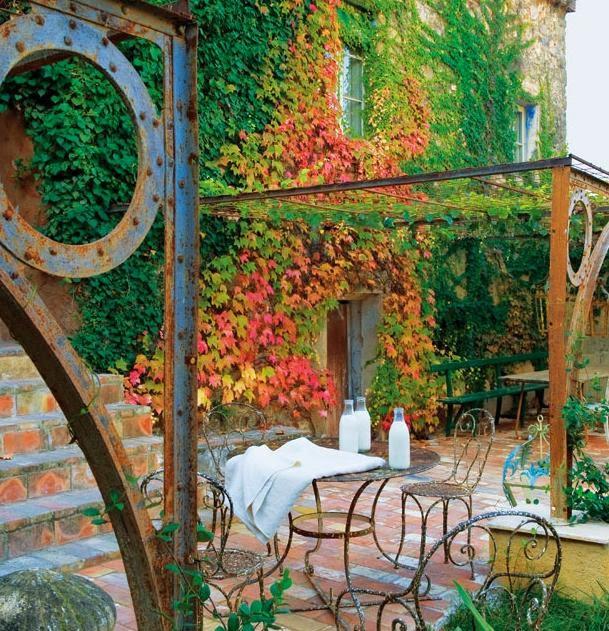 fasadas apauges augalais