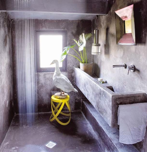 vonia, geltona kede, antis, pilkas tinkas