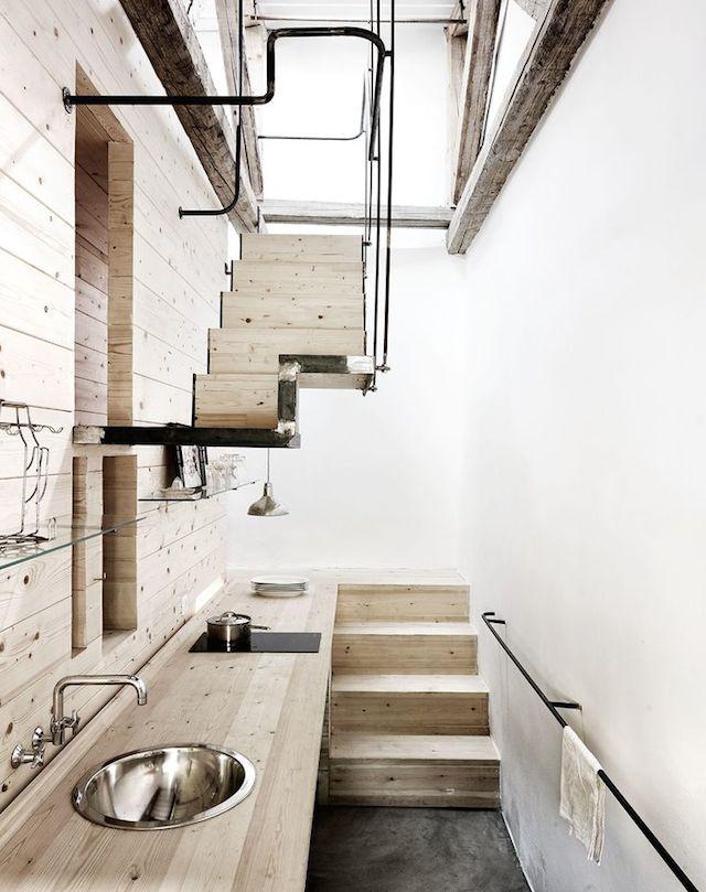 kalvio dirbtuves rekonstrukcija virtuve laiptai