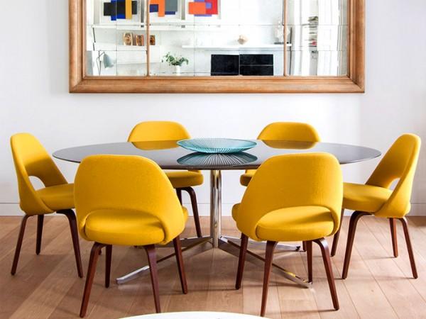family-home-madrid-lucas-y-hernandez-gil-5 geltonos kedes veidrodis