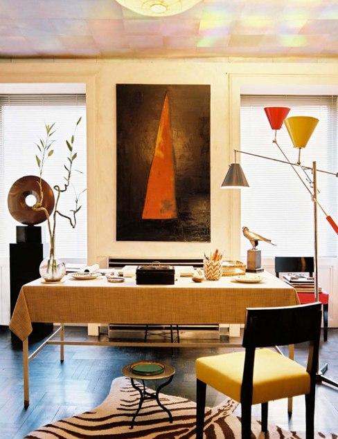 headley darbo kambarys stalas kede paveikslas