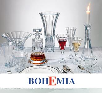 Apsilankykite BOHEMIA e-parduotuvėje - Krištolo ir stiklo indai Jūsų namams